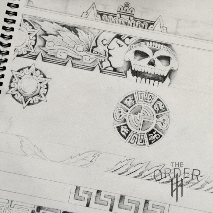 Aztec Sketch