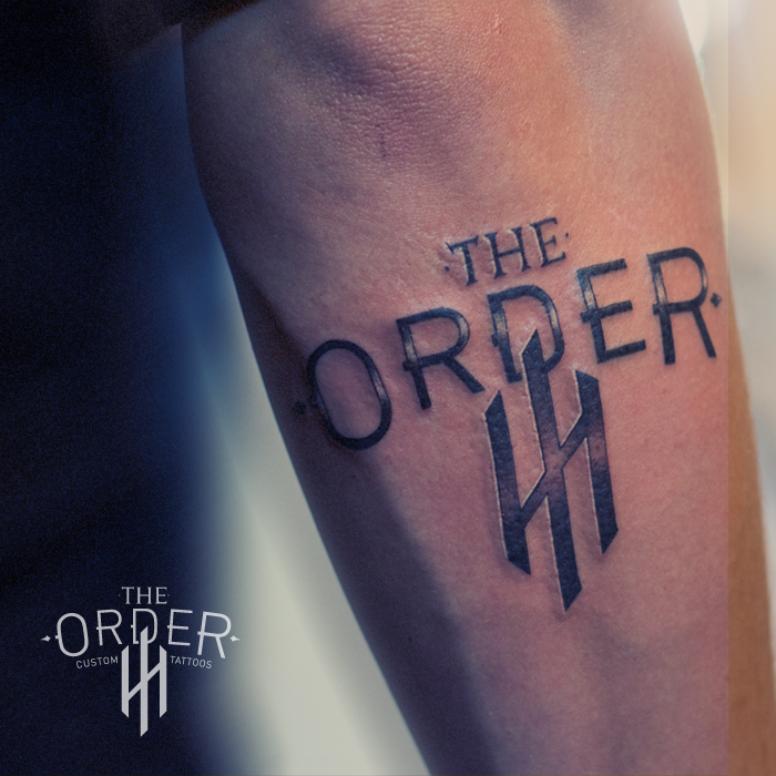 The Order Logo Tattoo