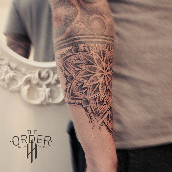 Mandala Tattoo – The Order Custom Tattoos