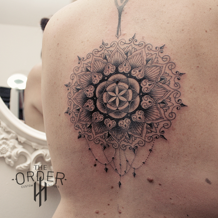 Sacred Geometry Mandala Tattoo The Order