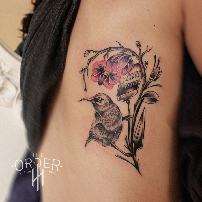 Humming Bird Chef Tattoo The Order