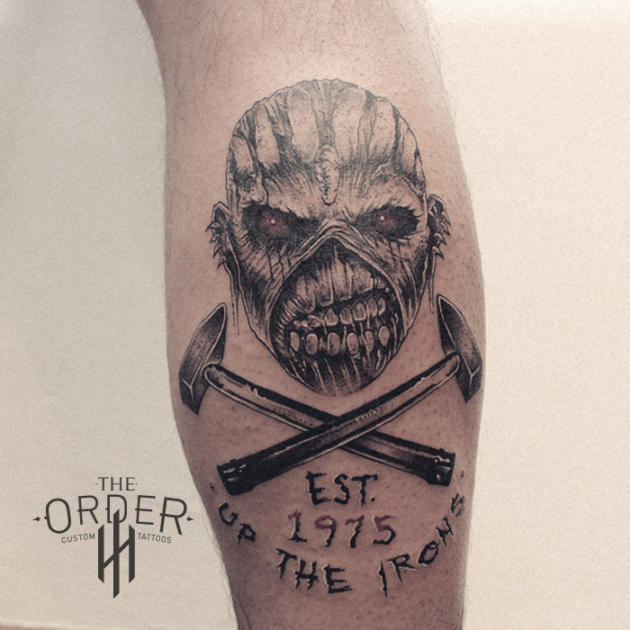 Iron Maiden Tribal Eddie Tattoo – The Order