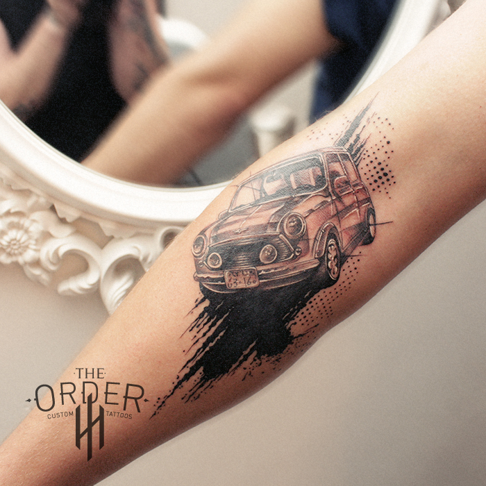 Trash Polka Mini Tattoo – The Order