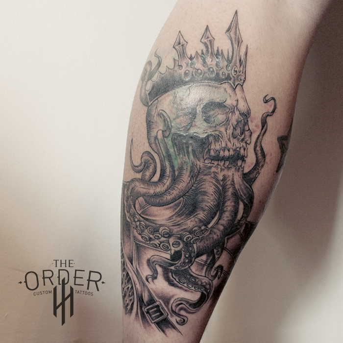 Octaskull King Tattoo – The Order