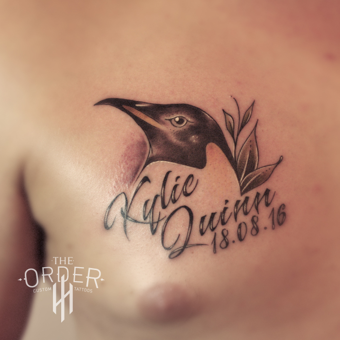 Neo Traditional Penguin Tattoo – The ORDER