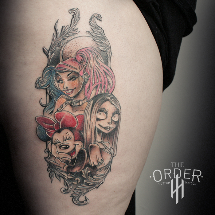 Character Tattoo – The ORDER