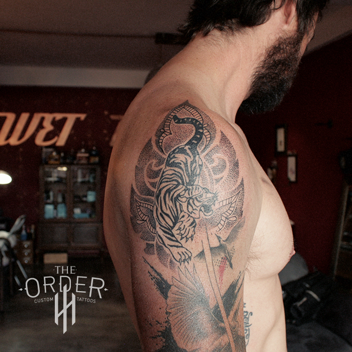 Pointillism Thai Tattoo – The ORDER