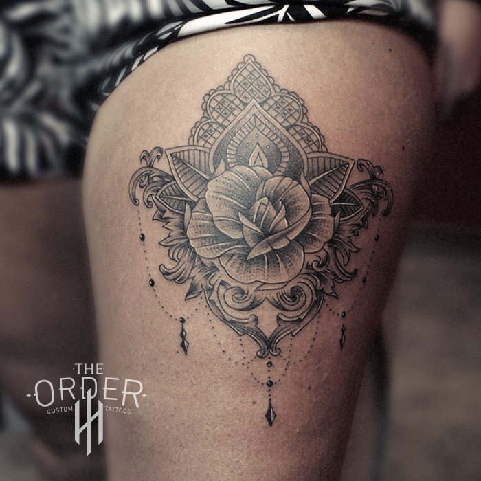 Rose And Lace Tattoo – The Order
