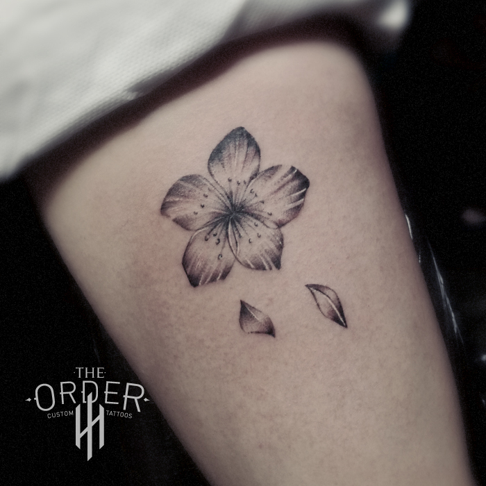Small Flower Tattoo – The Order